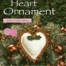 X283 Crochet PATTERN ONLY Valentine Flaming Heart Ornament Sachet Pattern