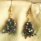 X271 Bead PATTERN ONLY Beaded Christmas Tree Earring or Ornament Pattern