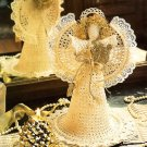 Y995 Crochet PATTERN ONLY Heirloom Holy Night Angel Christmas Ornament Pattern