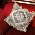 X275 Filet Crochet PATTERN ONLY Victorian Pillow Cover Pattern