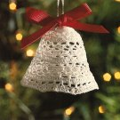 X010 Crochet PATTERN ONLY Holiday Bell Christmas Ornament Pattern