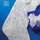 Y915 Crochet PATTERN ONLY Lacy Christmas Stocking Pattern