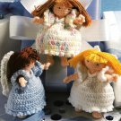 Y207 Crochet PATTERN ONLY Birthday Fairies or Angels Doll Toy Patterns