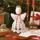 X331 Crochet PATTERN ONLY Christmas Angel Ornament Pattern