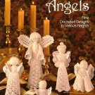 X670 Crochet PATTERN ONLY 9 Crochet Angels Ornament Pattern Leisure Arts