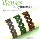 Y803 Bead PATTERN ONLY Beaded Waves of Symmetry Bracelet Pattern