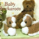Y081 Crochet PATTERN ONLY Baby Buckaroos Horse Pony Booties