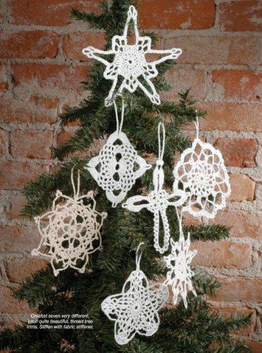 X904 Crochet PATTERN ONLY Seven Wonders Snowflake Ornament Pattern