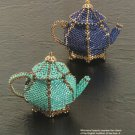 Y315 Bead PATTERN ONLY Beaded Miniature Teapot Pattern