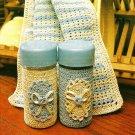 Y556 Crochet PATTERN ONLY Crochet Salt & Pepper Shaker Cover Dishcloth Patterns