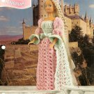 W481 Crochet PATTERN ONLY Annie's Fashion Doll Rapunzel Gown & Hat Pattern