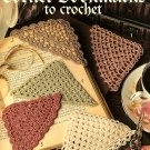 W490 Crochet PATTERN Book ONLY 5 Crochet Corner Bookmarks Patterns