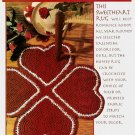 W504 Crochet PATTERN ONLY Romance Afoot Sweetheart Heart Rag Rug Pattern