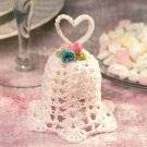 W515 Crochet PATTERN ONLY Sweetheart Heart Bell Ornament Pattern