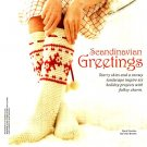 W528 Crochet PATTERN ONLY Scandinavian Fjord Footies Tall Socks Pattern