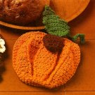 W530 Crochet PATTERN ONLY Pumpkin Pot Holder Pattern Potholder Thanksgiving
