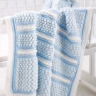 W559 Crochet PATTERN ONLY Baby Bubble Wrap Blanket Afghan Pattern