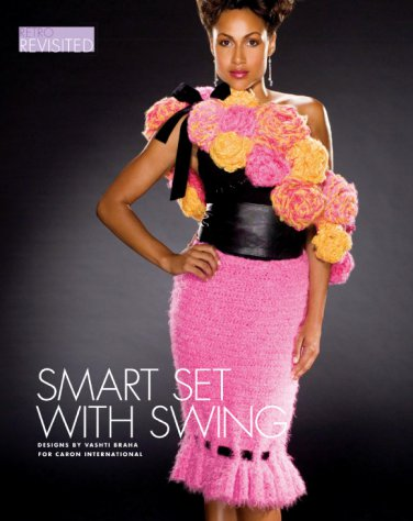 W576 Crochet PATTERN ONLY Retro Revisited Skirt and Wrap with Swing Patterns