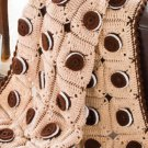W586 Crochet PATTERN ONLY Mouth-Watering Delight Oreo Cookie Afghan Pattern