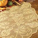 W637 Filet Crochet PATTERN ONLY Squash Hill Filet Table Topper Doily Pattern