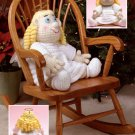 W638 Crochet PATTERN ONLY Littlest Angel Doll Pattern - So Cute - Pattern