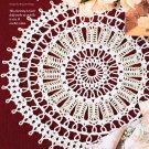 W688 Crochet PATTERN ONLY Summer Sun Doily Pattern