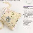 W738 Crochet/Sewing PATTERN ONLY Spring Drawstring Purses Patterns