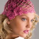 W740 Crochet PATTERN ONLY Roses Cloche Hat Pattern