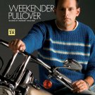 W741 Crochet PATTERN ONLY Men's Weekender Pullover Sweater Pattern