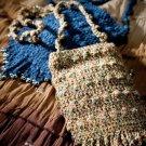 W762 Crochet PATTERN ONLY Hippy Totes Bag Purse Pattern