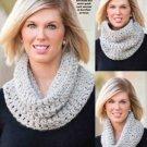 W808 Crochet PATTERN ONLY Speckled Neck Warmer Cowl Pattern