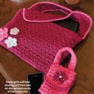 W811 Crochet PATTERN ONLY Netbook & Cellphone Cases Patterns