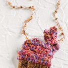 W818 Crochet PATTERN ONLY Bead Crochet Bunny Amulet Bag Pattern