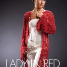 W819 Crochet PATTERN ONLY Lady in Red Long Duster Pattern