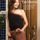 W844 Crochet PATTERN ONLY Fun Fur Fashions Purse, Shell, Jacket, Beret Patterns