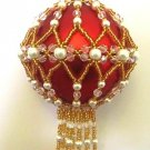 Z189 Bead PATTERN ONLY Beaded Princess Charlotte Christmas Ornament Cover