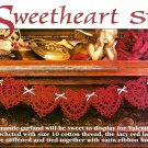 Z064 Crochet PATTERN ONLY Sweetheart Heart Swag Pattern Valentine's Day