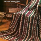 Z079 Crochet PATTERN ONLY Old World Christmas Afghan Pattern