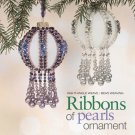 Z312 Bead PATTERN ONLY Ribbons of Pearls Christmas Ornament Cover Pattern