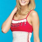 Z325 Crochet PATTERN ONLY Summer Star-Spangled Sun Top Pattern