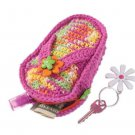 Z329 Crochet PATTERN ONLY Flip Flop Coin Purse Pattern