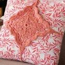 Z334 Crochet PATTERN ONLY Tie On Pillow Décor Motif Pattern