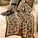 Z339 Crochet PATTERN ONLY Call of the Wild Animal Print Afghan Throw Pattern