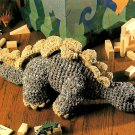 Z345 Crochet PATTERN ONLY Playtime Stegosarus Dinosaur Toy Doll Pattern
