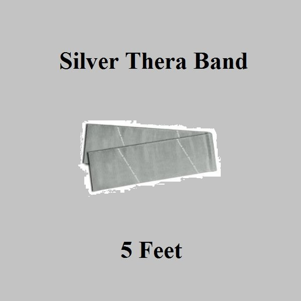 1 Silver Thera-Band, Theraband Resistance Exercise Band
