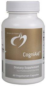 CogniAid - 60 Vegetarian Capsules - Designs for Health