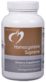 Homocysteine Supreme - 120 Vegetarian Capsules - Designs for Health