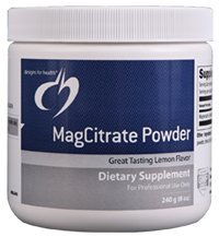 MagCitrate Powder - 240 gm - Designs for Health