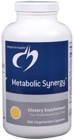 Metabolic Synergy - 360 Vegetarian Capsules - Designs for Health