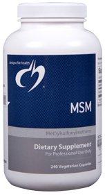 MSM 1000 mg - 240 Vegetarian Capsules - Designs for Health